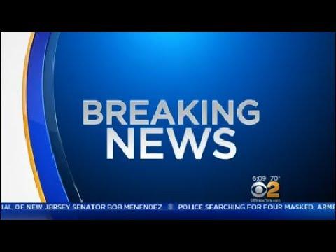 Bus Overturns On I-280 In Roseland, NJ