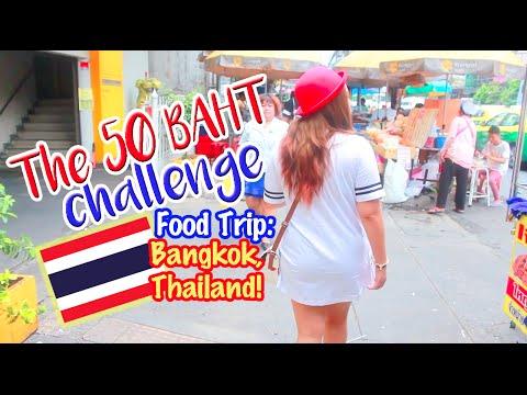 Bangkok Food Trip: 50 Thai Baht Challenge!