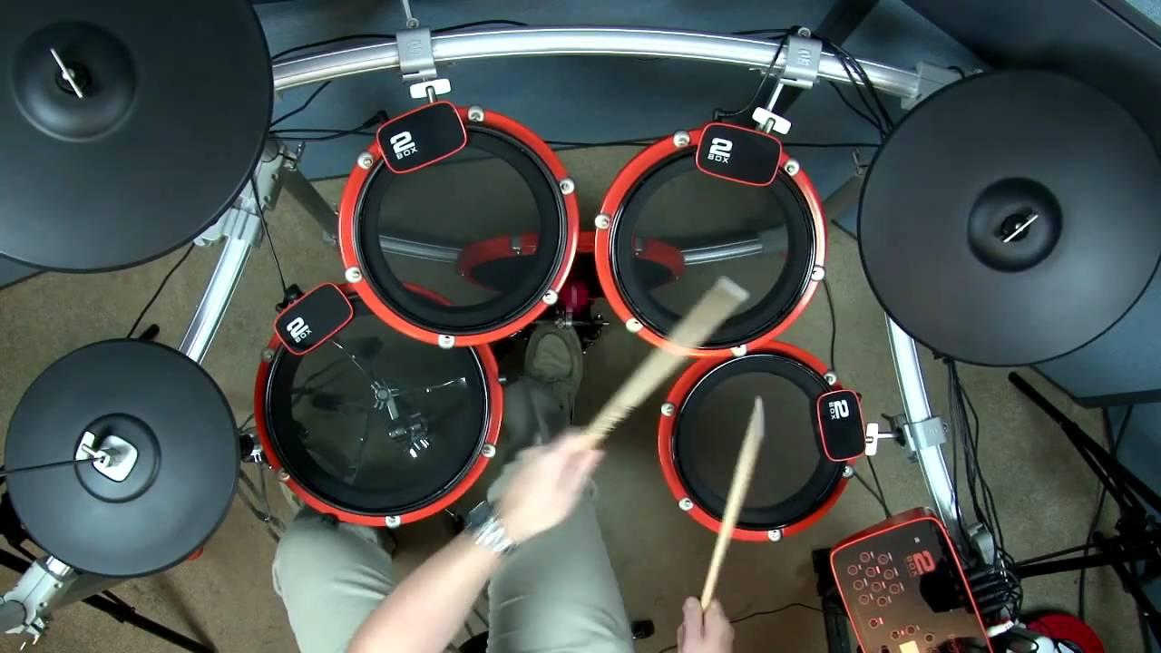 Edrum Attic 2box Drumit Five Electronic Drum Kit Demo