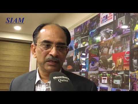 Mr Vishnu Mathur - Indian Automobile Industry Monthly Sales Figures   SIAM