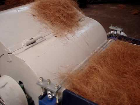 2M ENGINEERS, BANGALORE DEVELOPED AUTOMATIC DOUBLE HEAD 2 PLY YARN SPINNING MACHINE .