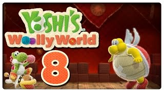 Let's Play YOSHI'S WOOLLY WORLD Part 8: Der dicke Knotbert & Schnuffels Comeback