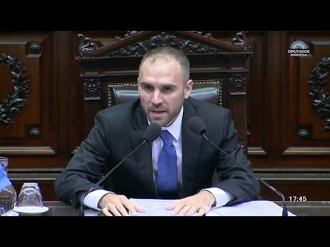 Guzmán expone en Diputados