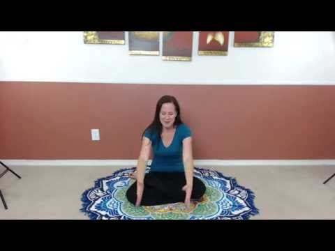 Opening the Crown Chakra- A combination of Yoga and Energy techniques