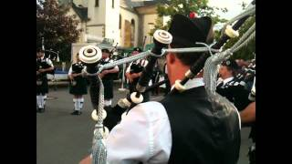 The Luxembourg Pipe Band In Mamer