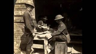 3D Stereoscopic Photographs of American Troops in France During World War 1