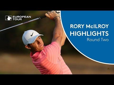 Rory McIlroy Highlights | Round 2 (Front 9) | 2018 Omega Dubai Desert Classic