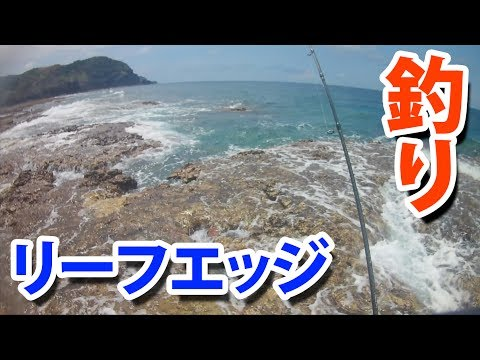 リーフエッジで釣りなんとかゲット奄美大島