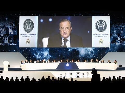 Asamblea General del Real Madrid, en directo I MARCA
