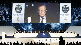 Asamblea General del Real Madrid, en directo I MARCA