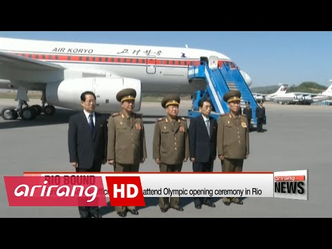 Senior N. Korean official leaves to attend Olympic opening ceremony in Rio