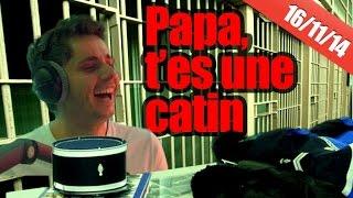 Un fils clash son père en prison !!