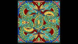 Dragon Mandala Time Lapse Coloring Book Art Creation By Cristina McAllister