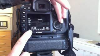 Canon EOS 7D Custum-Funktionen programmieren