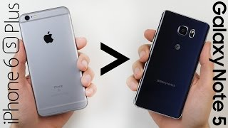 25 Reasons iPhone 6S Plus Is Better Than Galaxy Note 5