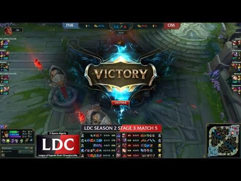 LDC Season 2 Finale Stage l Taigun esports vs Designatedsurvivors l FNK vs OM l Week 2