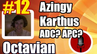 [FREE MIC #12] Azingy Karthus botlane? feat. Gleeb support Nautilus | cast by Octavian | Patch 5.5