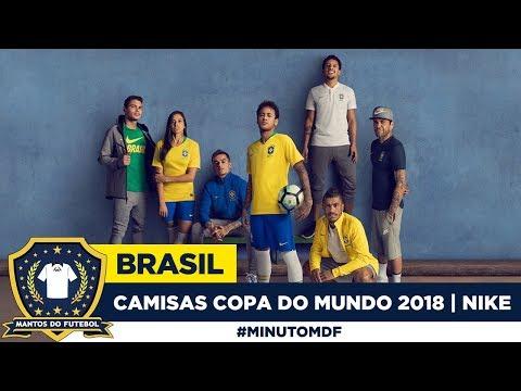Camisas do Brasil Copa do Mundo 2018 Nike