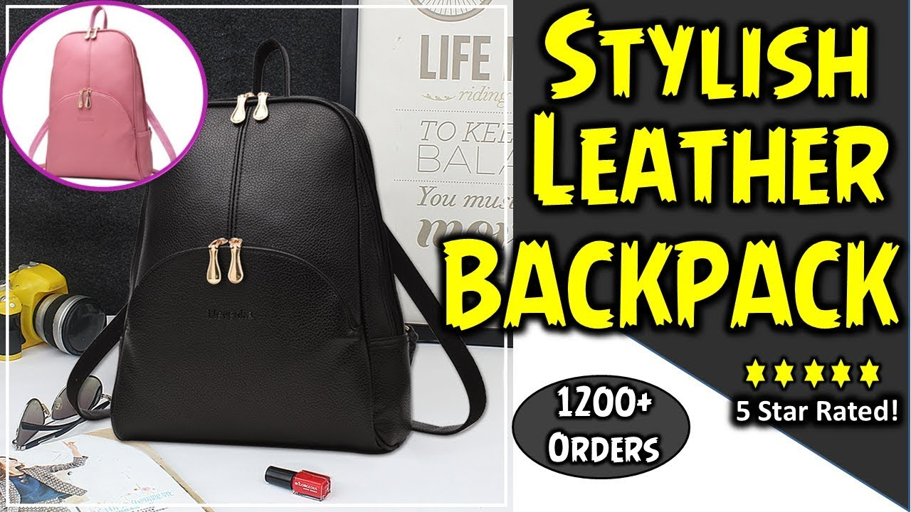 5b71067f7e1e Most Fashionable Backpack for Women 2018
