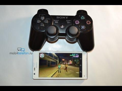 Работа DualShock 3 со смартфонами Sony Xperia на примере SP