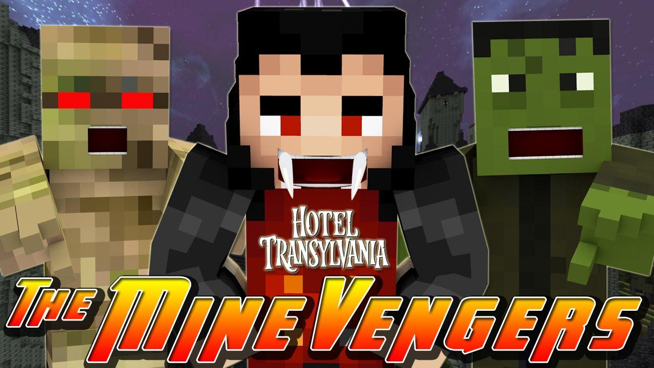 Hotel Transylvania [TRAILER REMADE] Minecraft Project
