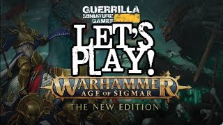 Let's Play! - NEW - Warhammer: Age of Sigmar - 2nd Edition - Nighthaunts vs. Stormcast
