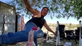 Bottle Cap Kick Challenge           3 OF A KIND YouTube Videos