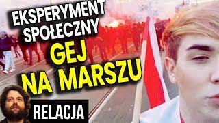 Gej Ciepło Przyjęty na Marszu Niepodległości 2019. Lewactwo w Szoku - Relacja Analiza Komentator PL