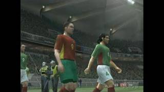 World Soccer Winning Eleven 9 PlayStation 2 Gameplay -