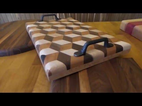 3 D Tray /Wood Art By Bob Dammer