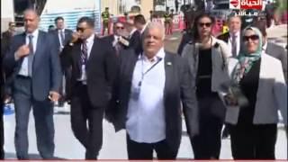 فيديو.. تامر أمين بعد انتهاء اليوم: الحمد لله مصر آمنة