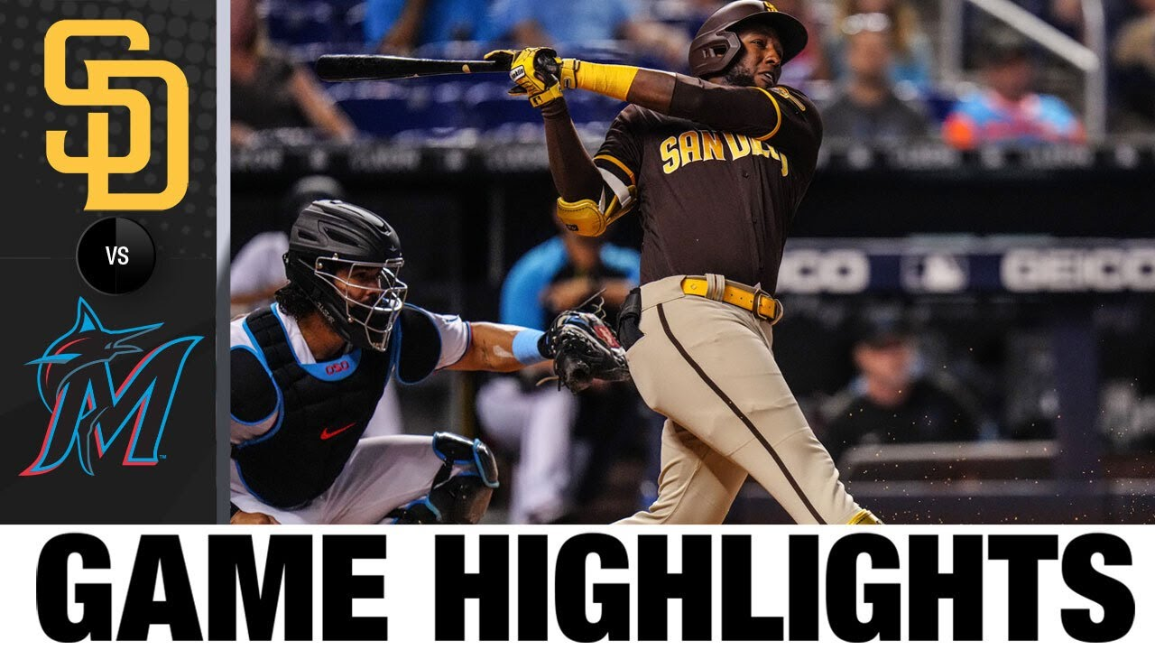 Download Padres vs. Marlins Game Highlights (7/22/21)   MLB Highlights