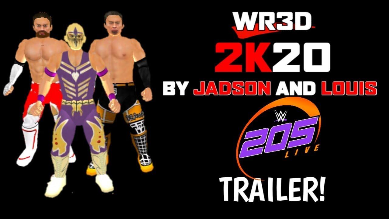 WR3D 2K20 MOD! 205 Live Trailer!