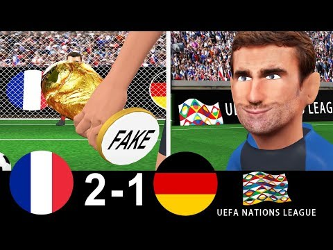FRANCE vs GERMANY 2-1 Nations League   Goals   Remake