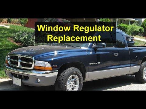 2001 dodge dakota quad cab manual window regulator