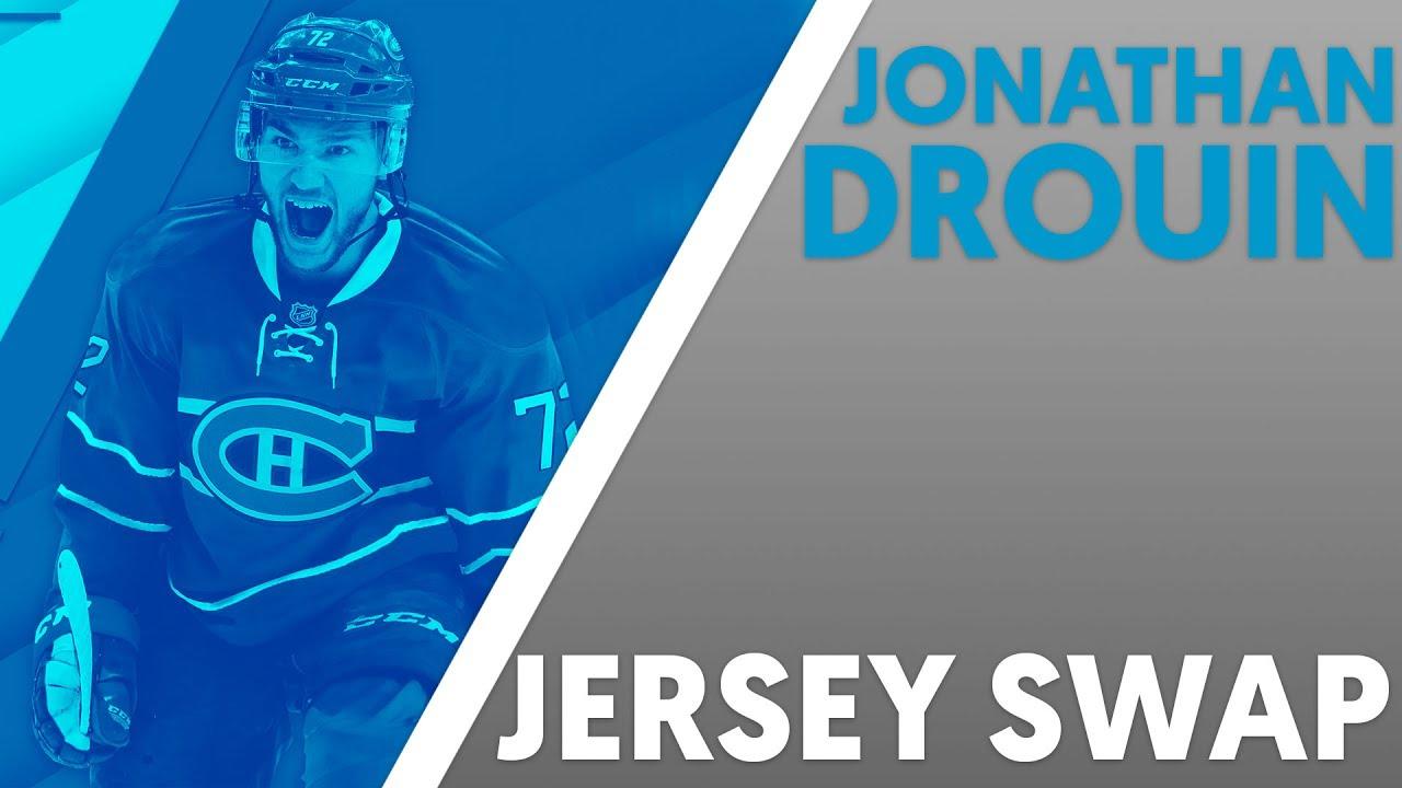 Jonathan drouin jersey - Jonathan Drouin Jersey Swap Speed Art