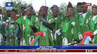 Download Video 'You've Done Us Proud' Tinubu Tells Aregbesola As APC Rally Support For Oyetola In Osogbo MP3 3GP MP4