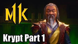 MK11 Krypt Gameplay Walkthrough Part 1 (Mortal Kombat 11 Krypt)