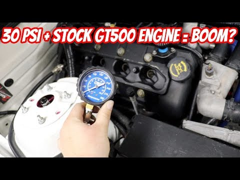 Trying to make 1000RWHP on a stock engine GT500... It Blew up... Or so we thought..