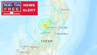 6.4 Earthquake Off Japan Coast - LIVE COVERAGE