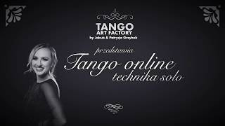 Jakub Grzybek & Patrycja Cisowska- Tango ONline Lesson 14 (Women's Technique)