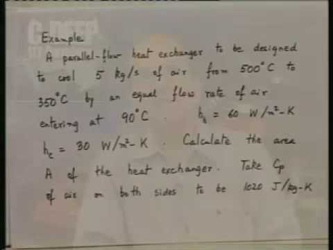Lecture - 27 Heat Exchangers - 3
