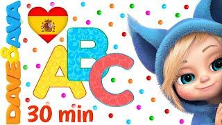 👍 Canciones Infantiles   Un Dedito y Más Videos para Niños   Dave and Ava en Español 👍