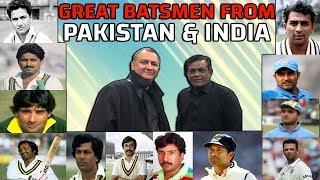 Great Batsmen From Pakistan & India | Caught Behind
