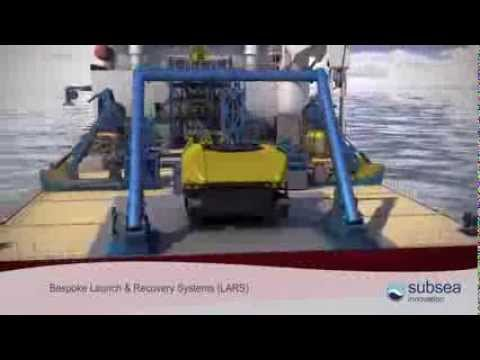 LARS ROV launch and recovery system, obs ROV, trencher, work class ROV A-frames & TMS