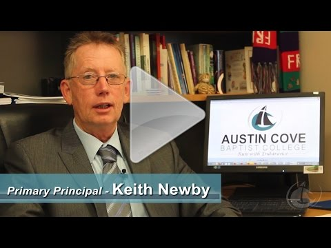 Austin Cove Baptist College Primary Principal Keith Newby