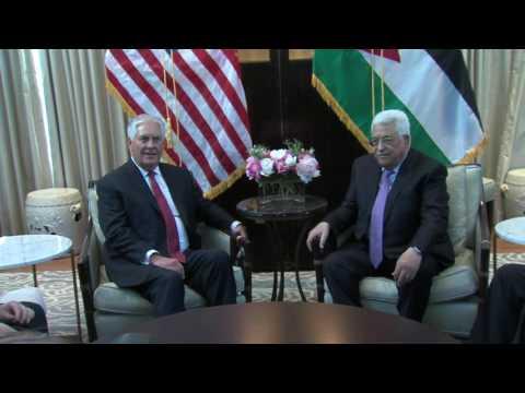 Secretary Tillerson Meets With Palestinian Authority President Mahmoud Abbas