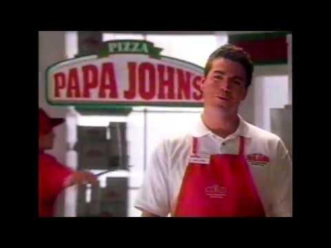 Papa John's Commercial - Pizza Hut Dare - 1998