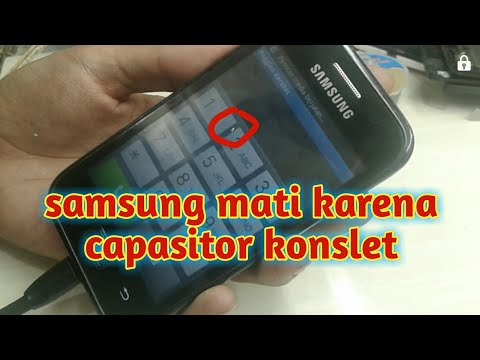 samsung galaxy ace plus (gt s 7500) mati karna capasitor short
