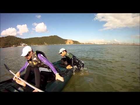 KAYAK SPORTS - 33 - DANDO UMA VOLTA COM CAIAQUE EXPLORER FISHING